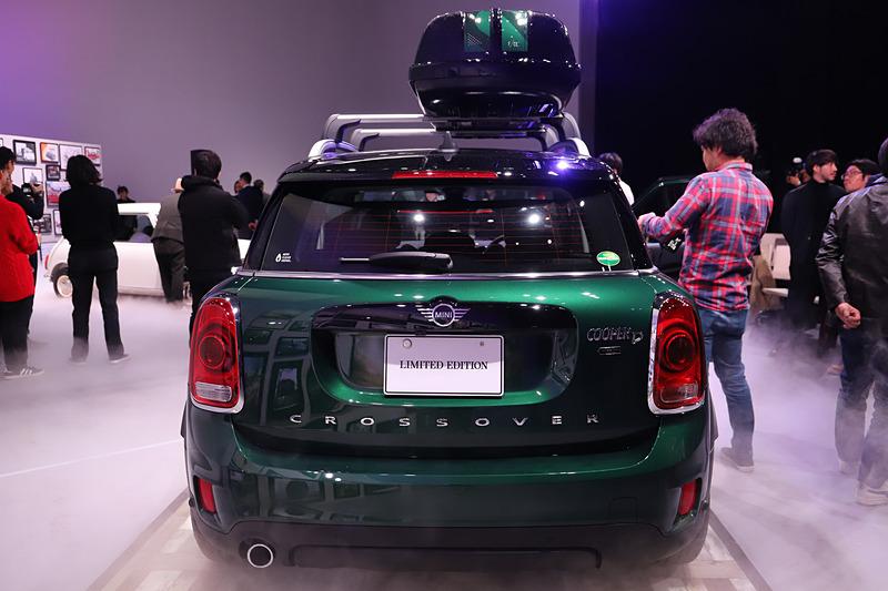 MINI クロスオーバー ノーフォーク・エディション。ボディサイズは4315×1820×1595mm(全長×全幅×全高)、ホイールベースは2670mm