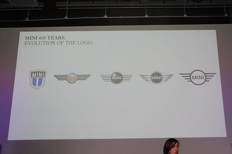 60年の中で変わってきたMINIのロゴ
