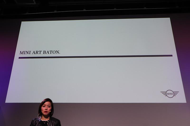 3人のクリエイターと協力して「MINI クラシック エディション」にアートプロジェクトを行なう「MINI ART BATON」
