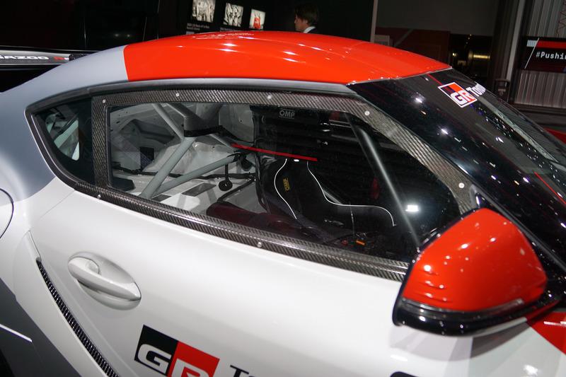 新型「スープラ」をベースにしたレーシングスタディモデル「GR Supra GT4 Concept」