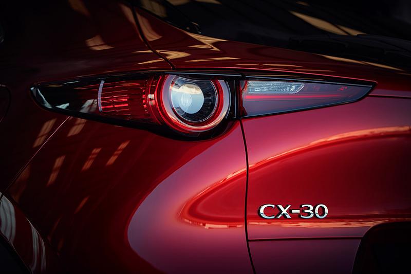 CX-30のボディサイズは4395×1795×1540mm(全長×全幅×全高)、ホイールベースは2655mm