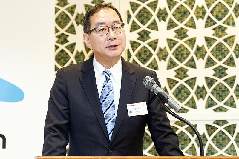 株式会社ホンダモーターサイクルジャパン 代表取締役社長 加藤千明氏