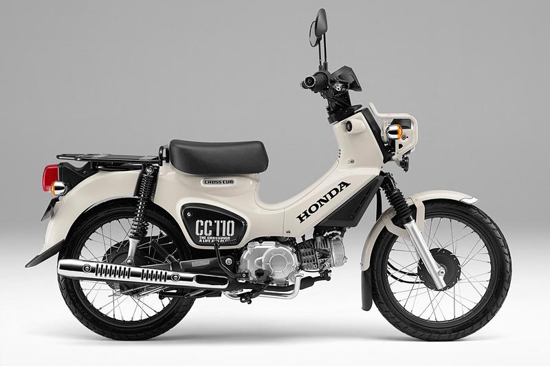 クロスカブ110(クラシカルホワイト)