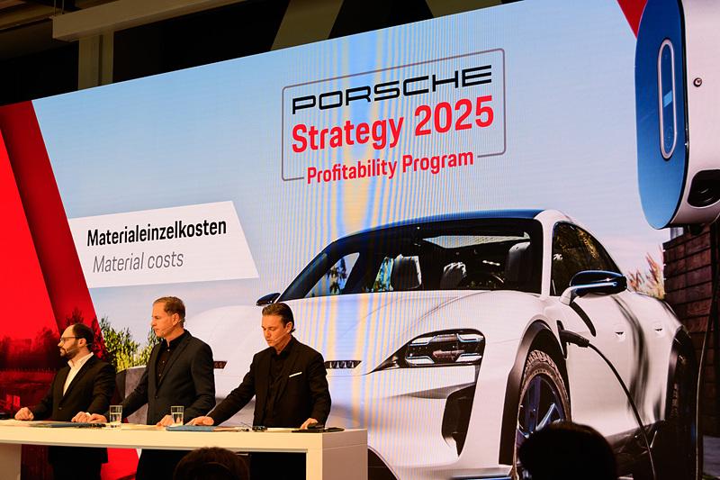 2019年の大きなトピックとなるピュアEVであるタイカンの販売。ポルシェの2025年へ向けての戦略「Strategy 2025」の大きな柱となる