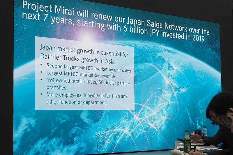 今後7年に渡る「ミライ」プロジェクトで国内販売網を刷新