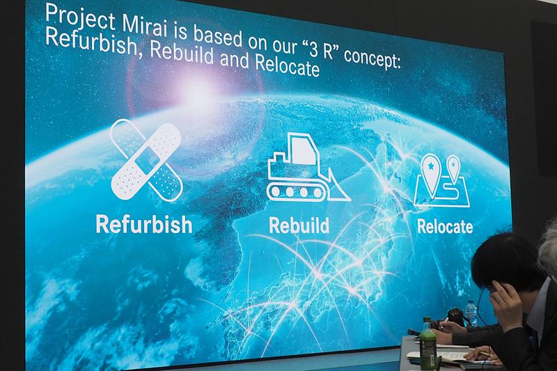 ミライのコンセプトは3つのR