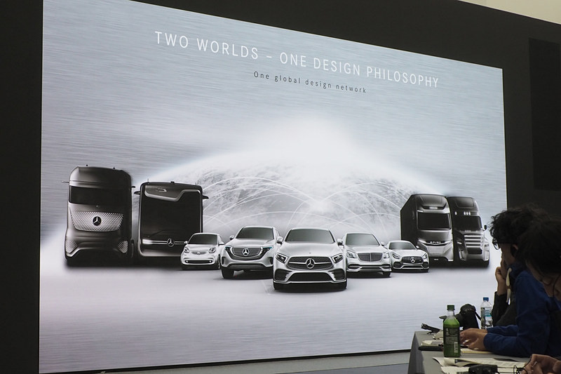乗用車、商用車ともデザインのフィロソフィは1つ