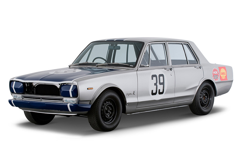 「スカイライン 2000 GT-R」(1969年 PGC10型 JAFグランプリ優勝仕様車 No.39)