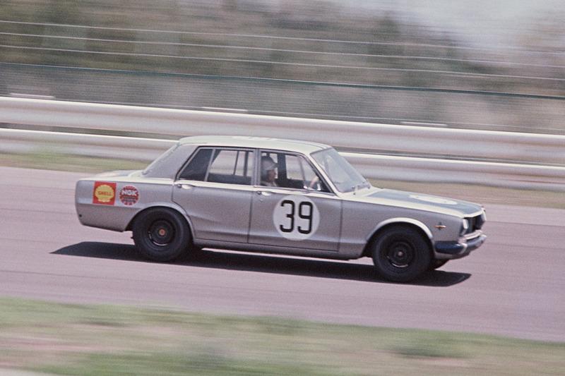 1969年に開催されたJAFグランプリのレース風景