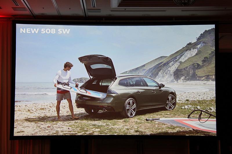 新型「508 SW」を今夏発売