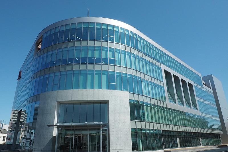 新社屋「プロダクト・センター」の1階と2階がデザインセンター