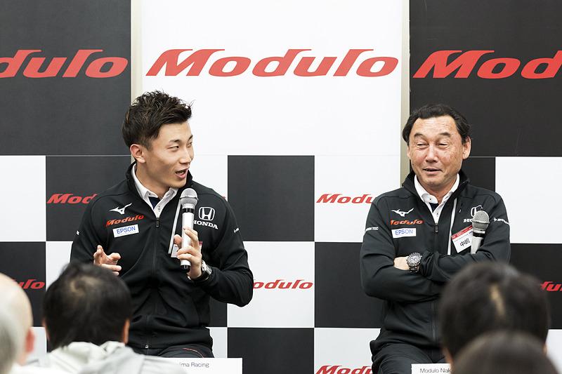 Modulo Nakajima Racingのシーズン前テストは順調だったようで、中嶋総監督からは「岡山のテストを行なった時点で基本的な部分はできたと思う」ということだった