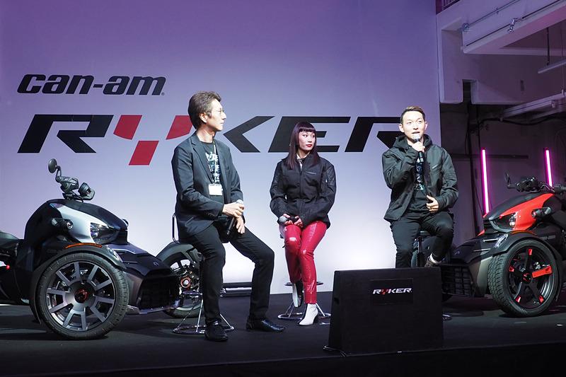 安床武士氏とマドモアゼル・ユリア氏が語るトークショーを開催