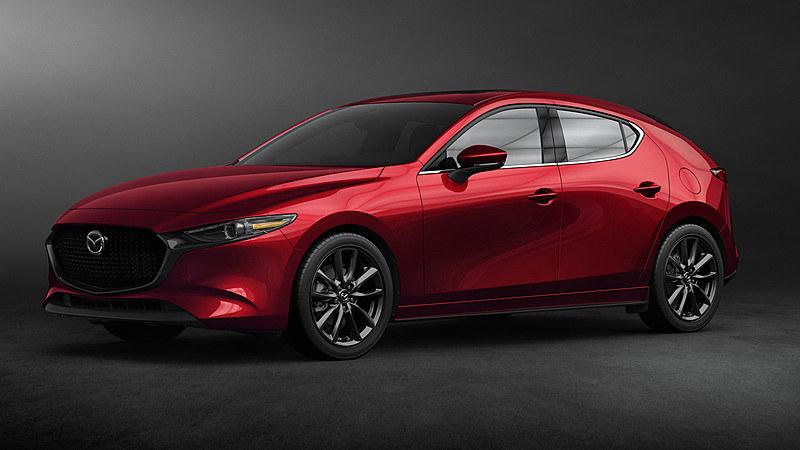 新型「Mazda3」ハッチバック