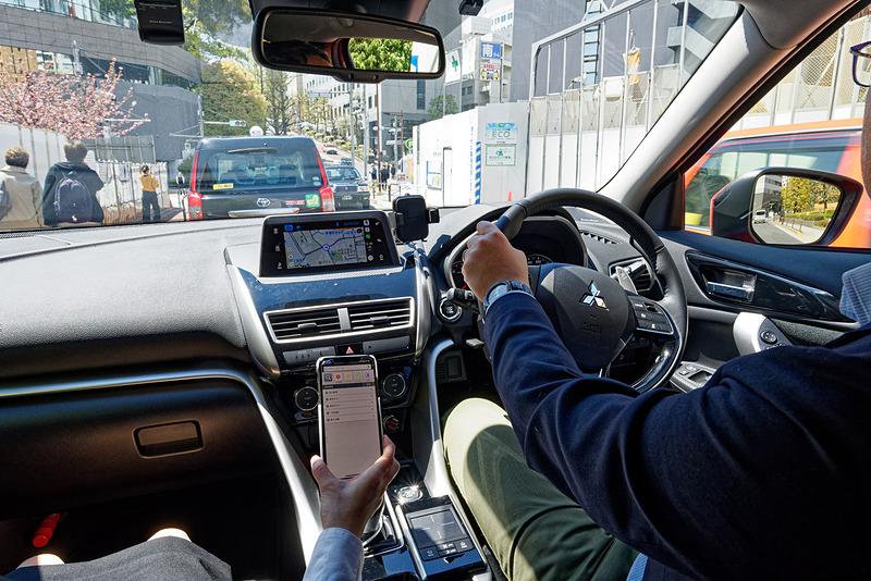 CarPlay対応したYahoo!カーナビの動作をチェック可能な同乗試乗も実施