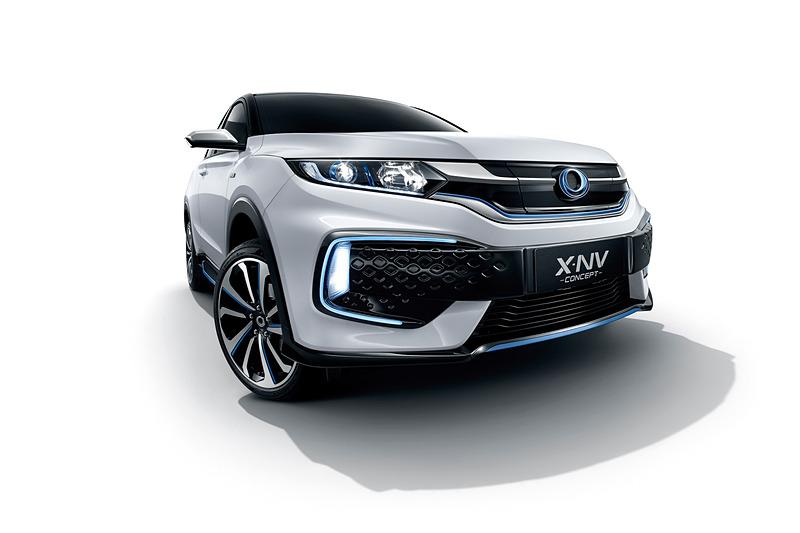 X-NV CONCEPTは、2019年後半に中国での発売を予定している中国市場初の量産EVコンセプトモデル