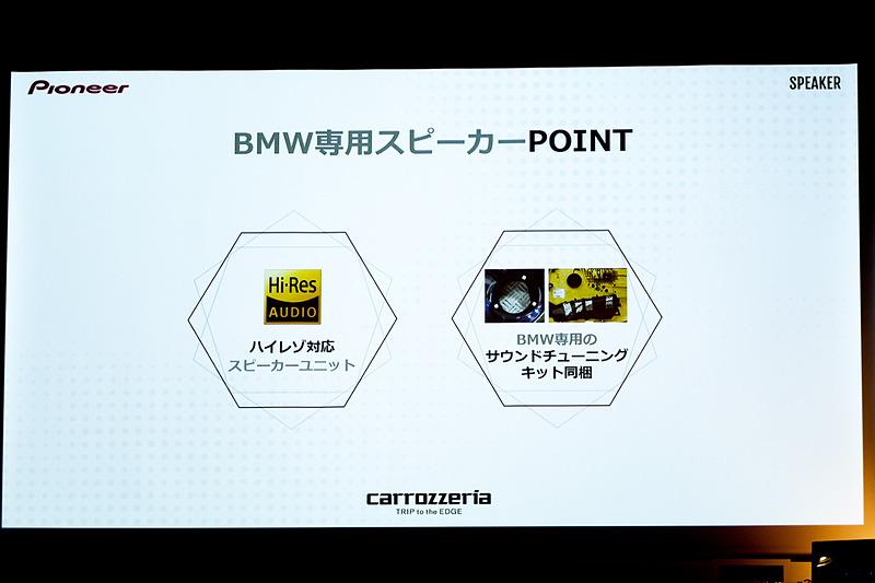 BMW専用スピーカー
