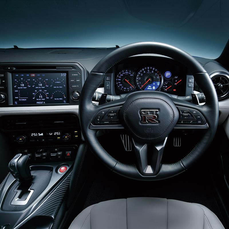 NISSAN GT-R 2020年モデル Premium editionのインテリア