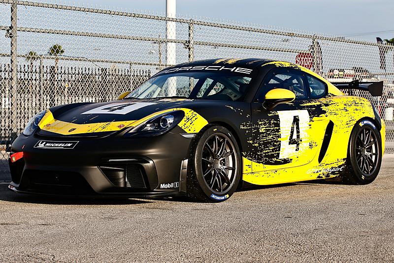 718 ケイマン GT4 クラブスポーツ