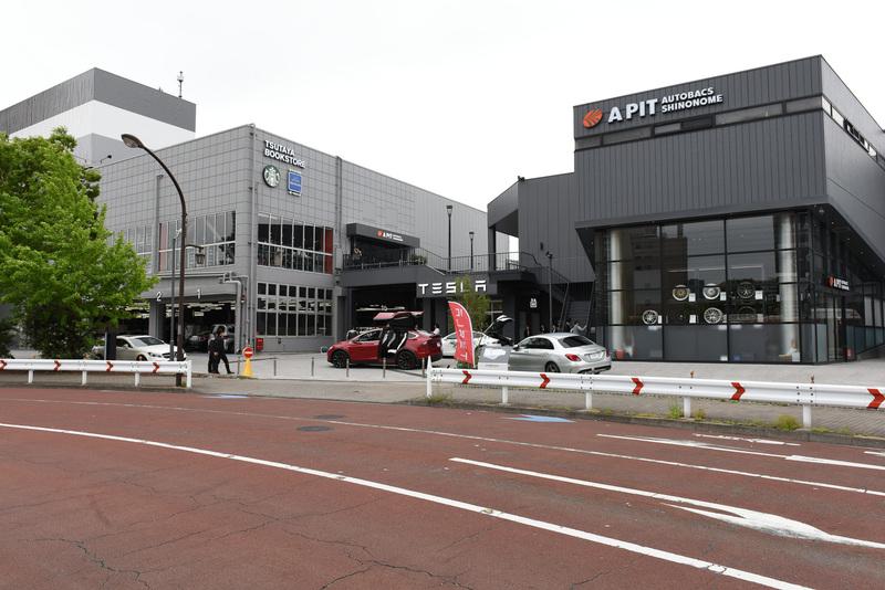 国内では4拠点目となるテスラ直営のサービス拠点「テスラサービスセンター東京ベイ」