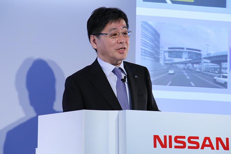 日産自動車株式会社 AD/ADAS先行技術開発部 部長 飯島徹也氏
