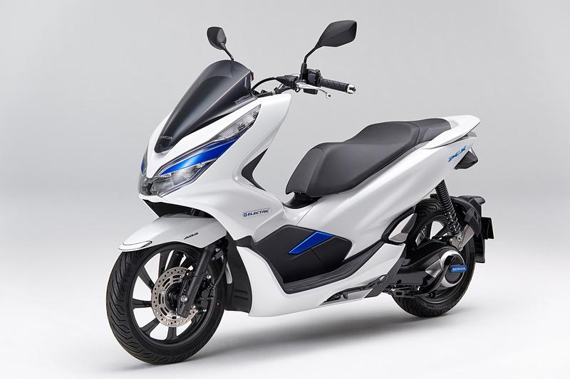 2018年11月からリース販売されているホンダの2輪EV「PCX エレクトリック」