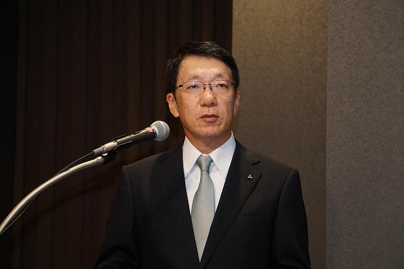三菱自動車工業株式会社の新CEOとなる加藤隆雄氏(現PT Mitsubishi Motors Krama Yudha Indonesia 取締役社長)