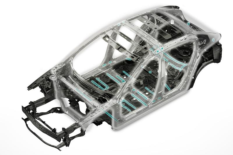 基本骨格のストレート化と環状構造を基本とするマツダ独自のボディをさらに進化