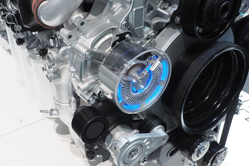 エンジンの冷却要求によって動作を可変させて負荷を抑えるウォーターポンプ