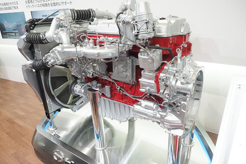 ハイブリッドシステムにも組み合わせる9リッターのA09Cエンジン
