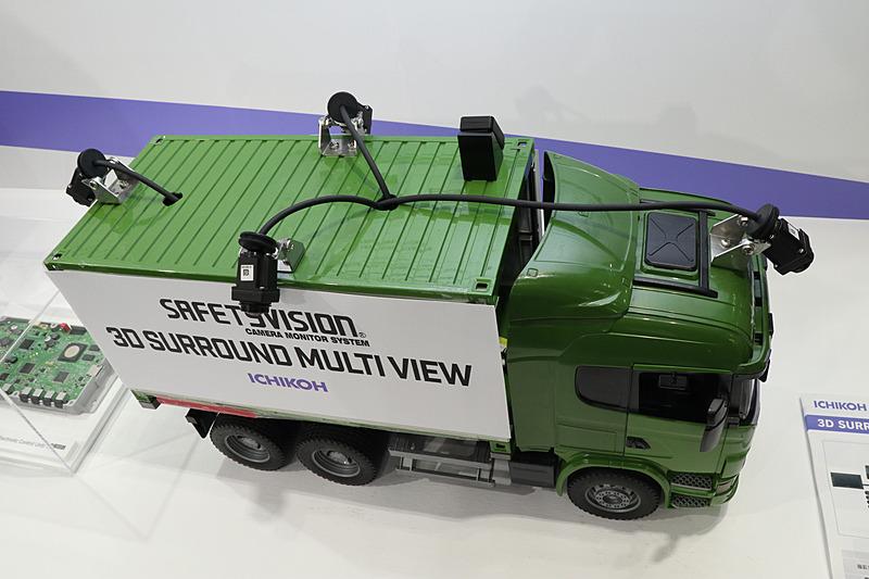 アフターマーケット向けトラック用3Dサラウンドマルチビュー