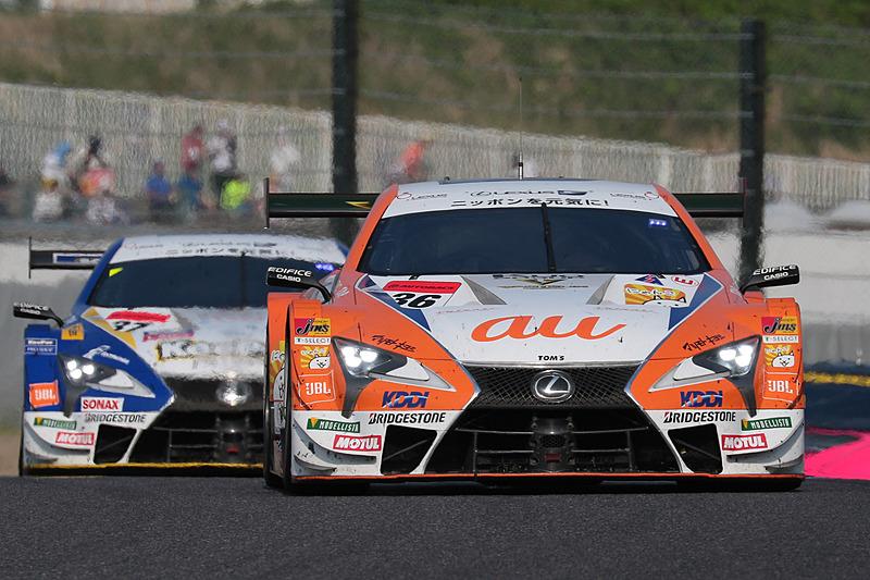 SUPER GT 第3戦 鈴鹿、GT500の優勝はポールからスタート36号車 au TOM'S LC500(中嶋一貴/関口雄飛組、BS)