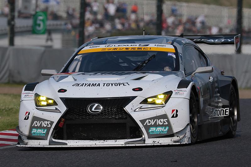 GT300の優勝は、開幕戦についで2勝目をマークした96号車 K-tunes RC F GT3(新田守男/阪口晴南組、BS)