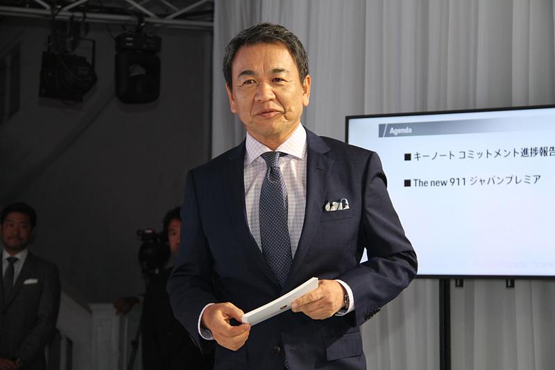 ポルシェジャパン株式会社 代表取締役社長 七五三木敏幸氏