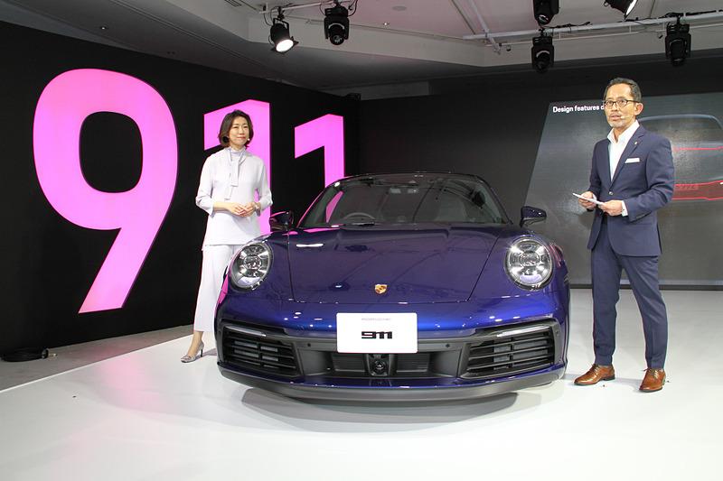 ポルシェAG エクステリアデザイナー 山下周一氏が新型911のデザインについて解説