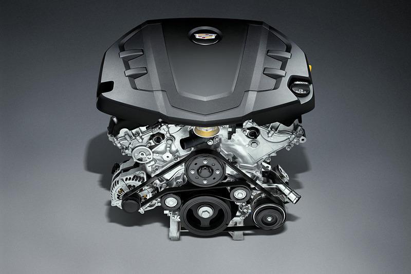 V型6気筒DOHC 3.6リッターエンジン