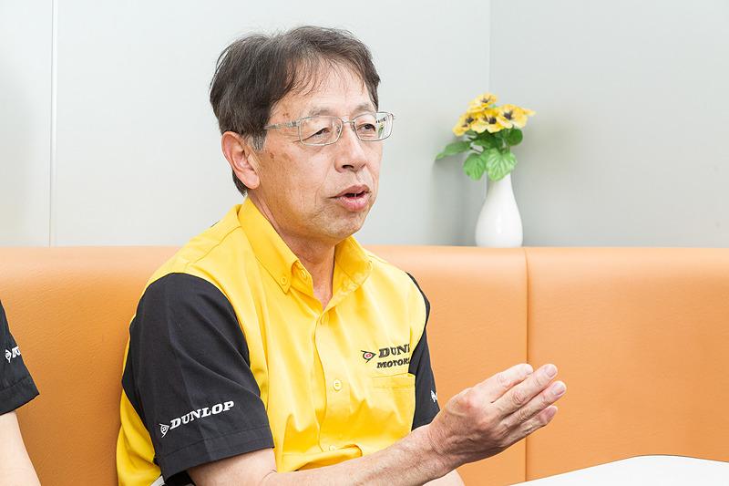 2018年シーズンについて語る谷川氏