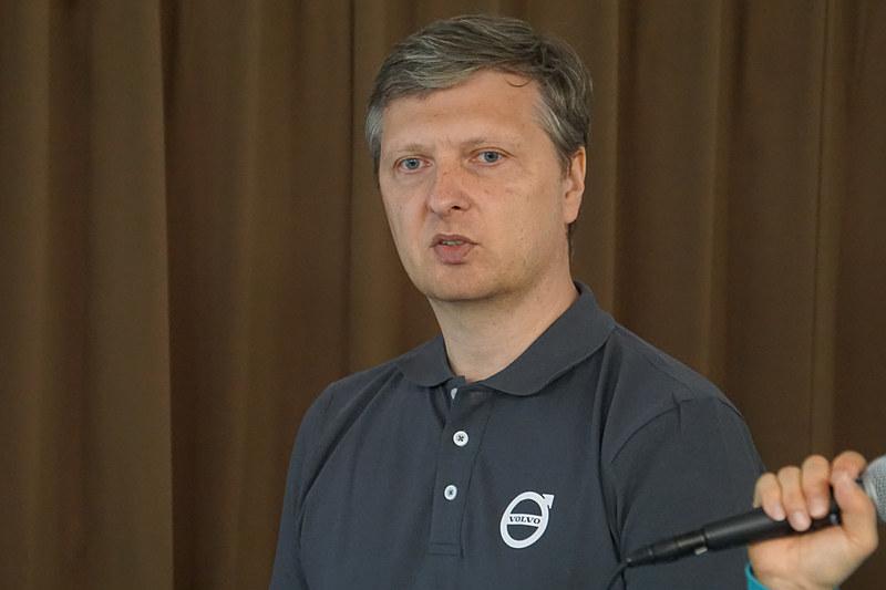 ボルボ・トラックインターナショナルHub SEA リージョナルプロダクトマネージャー Pawel Olszewski氏