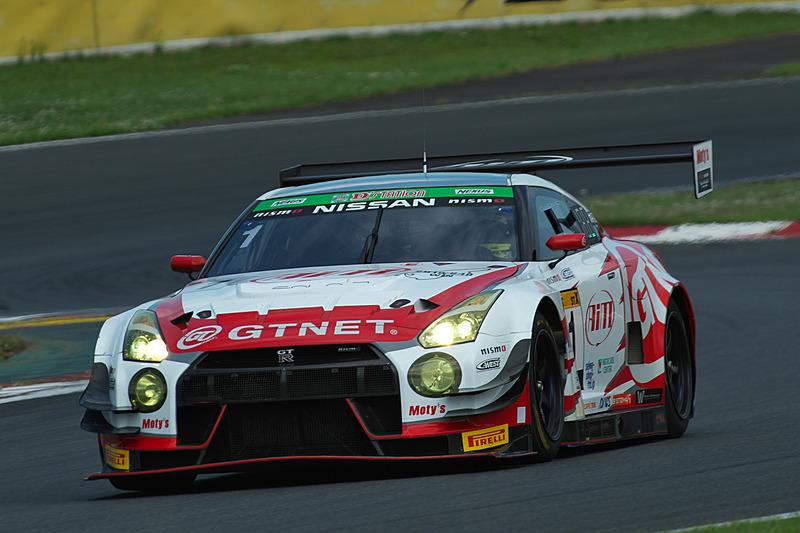 1号車「GTNET GT3 GT-R」