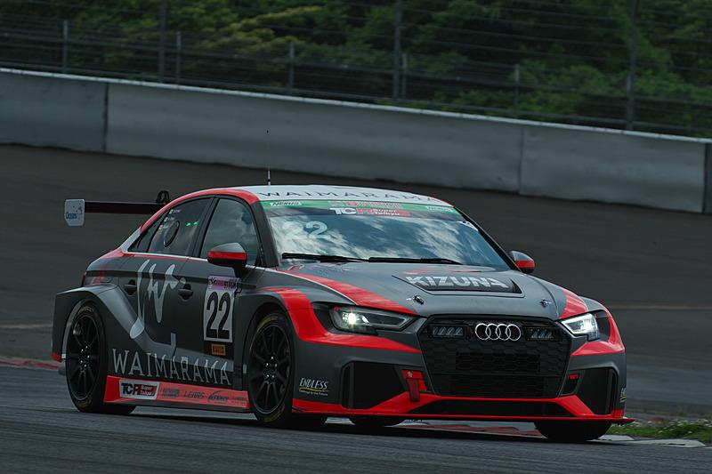 22号車「WAIMARAMA KIZUNA Audi RS3 LMS」