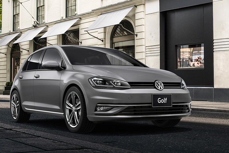 「ゴルフ」「ゴルフ ヴァリアント」「ゴルフ オールトラック」の3モデル5グレードに特別仕様車「マイスター」を設定