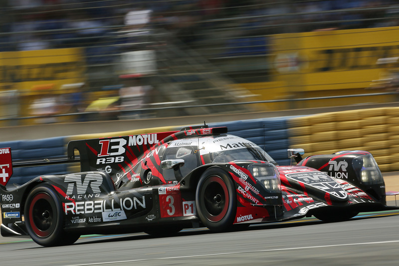 セッション終盤まで1号車を上まわるタイムを出していたレベリオン・レーシングの3号車