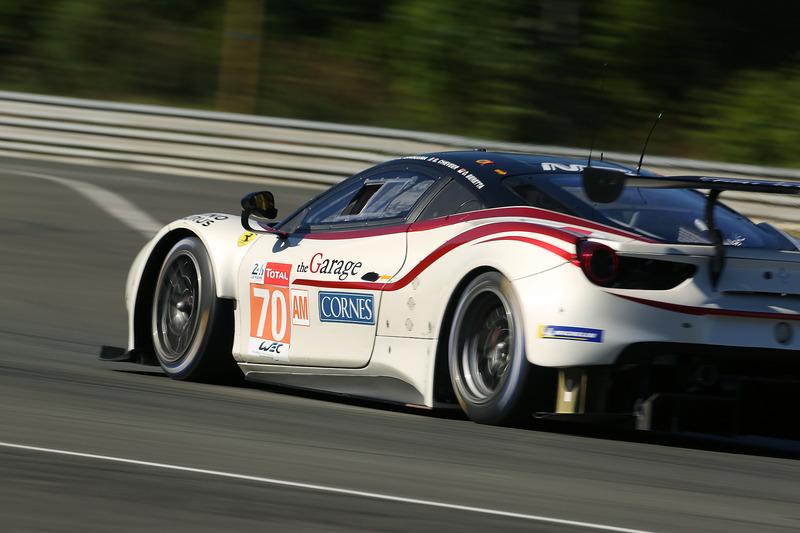 MR Racingの70号車 フェラーリ 488 GTE