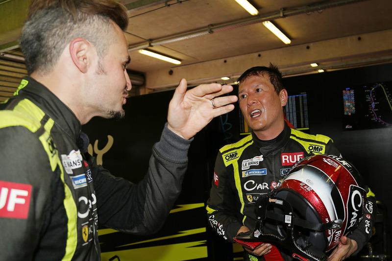 CARGUY Racingの木村武史選手とケイ・コッツォリーノ選手
