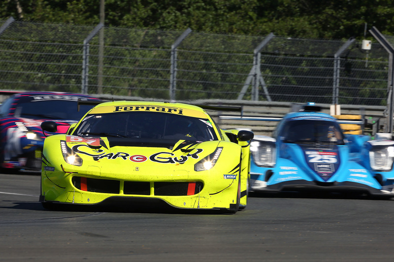 CARGUY Racingの57号車 フェラーリ 488 GTE