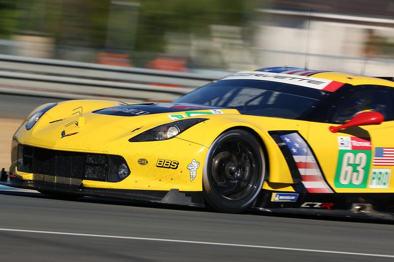 LMGTE Proクラストップのコルベット・レーシング 63号車