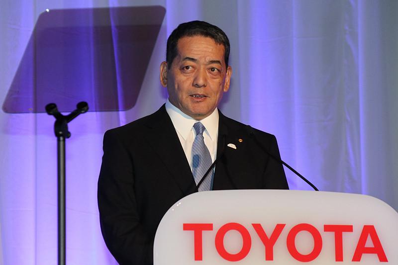 トヨタ自動車株式会社 取締役副社長 寺師茂樹氏