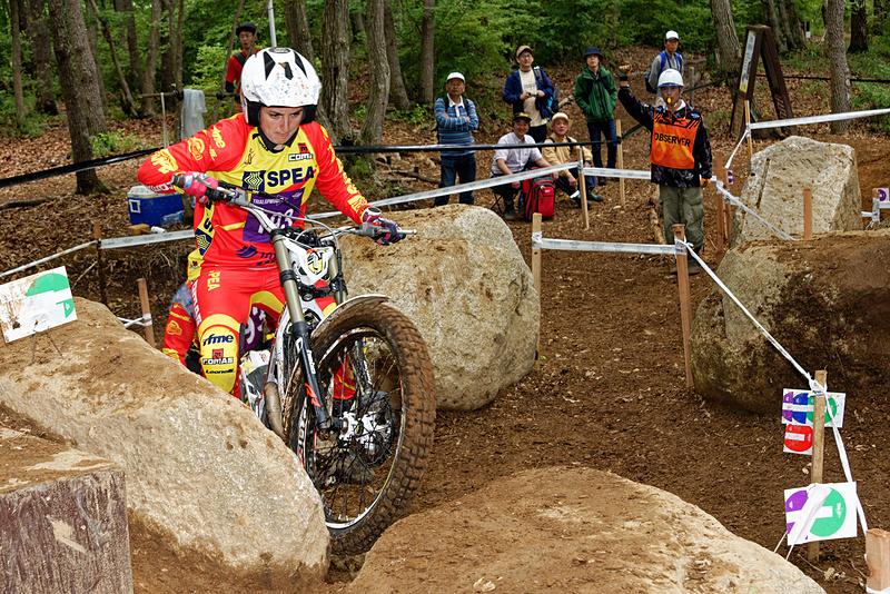 日本GPでは女性のみのTRIALGP WOMENクラスのレースも実施