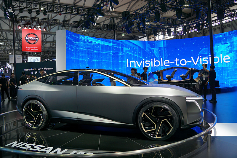 EVセダンのコンセプトカー「Nissan IMs」