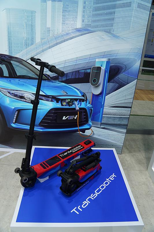 電動小型モビリティ「Transcooter(トランスクーター)」